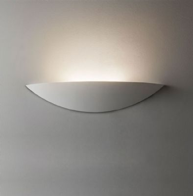 Slice White Plaster LED Wall Light / Uplighter - ASTRO 1081003 (7399)